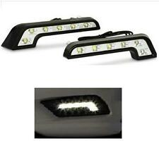 1 x Pair 6 LED L Shape White 6000K DRL Daytime Running Lights - Mercedes