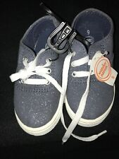 Wonder Nation Girls Blue Sparkle Tennis Shoes New Size 9