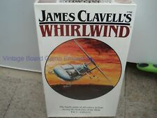 JAMES CLAVELL'S WHIRLWIND GAME - WHIRLWIND GAME - FACTORY SEALED - RARE - 1986