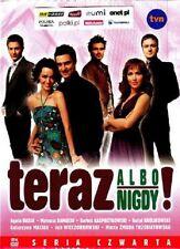 TERAZ ALBO NIGDY SEZON 4 DVD( 2 disc)POLISH Shipping Worldwide