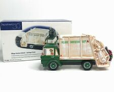 Department 56 Snow Village Garbage Truck 1998 Village Service Vehicle