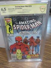 Amazing Spider-Man #276 Marvel Comics CBCS 6.5 Joe Rubinstein Signed Hobgoblin