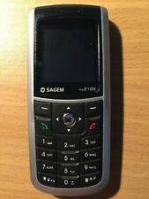 Sagem MY 210X - Silber / Schwarz (Ohne Simlock) Handy