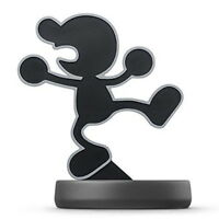 Amiibo Mr.Game and Watch Super Smash Brothers Nintendo Wii U 3DS Japan New F/S
