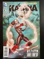 KATANA #6a (2013 The New 52, DC Comics) ~ VF/NM Comic Book