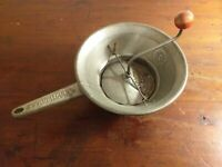 Collectable Vintage Large French Made Moulin Vegetable Grinder