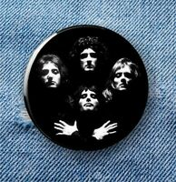 the faces of Queen - Large Button Badge - 58mm diameter