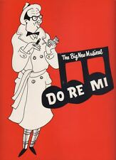 "Phil Silvers & Nancy Walker  ""Do Re Mi""  Souvenir Program  OBC  1960  Broadway"