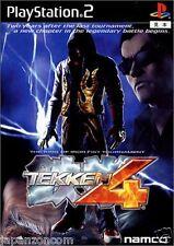 Used PS2 Tekken 4 SONY PLAYSTATION JAPAN IMPORT