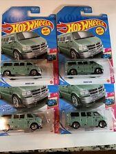 New 2021 Hot Wheels Dodge Van Vhtf - Mooneyes Lot Of 4