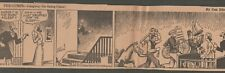 VINTAGE NEWSPAPER COMIC STRIP - THE GUMPS by Gus Edson - PROVIDENCE, RI 1937