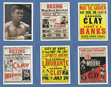 BOXING - SPORTING PROFILES - SET OF 16 BOXING CARDS - CASSIUS CLAY - EARLY YEARS