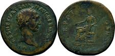 Sesterz 98-99 RÖMISCHE KAISERZEIT Trajan, 98 - 117 Pax #Alb.1138