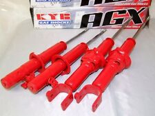 KYB AGX 1989-1991 HONDA CIVIC CRX EF ADJUSTABLE SPORT SHOCKS STRUTS FRONT & REAR
