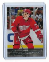 2015-16 UPPER DECK #228 DYLAN LARKIN YG RC UD YOUNG GUNS ROOKIE RED WINGS