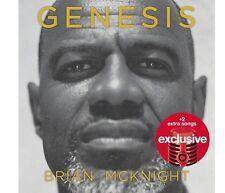 Brian McKnight - Genesis CD Target Exclusive BONUS TRACKS 2017 FREE SHIPPING