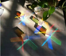6pc Defective Optical Glass Physics prism Cube Glass Prism for Decoration DIY