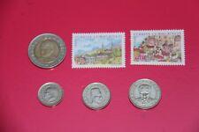 timbres  + pièces monnaies Turquie