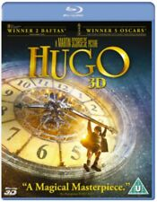 NEW Hugo 3D+2D Blu-Ray