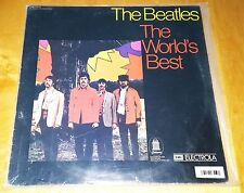 The Beatles 'The World's Best' vinyl Stereo GERMANY Only Book Club Odeon