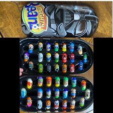 Mighty Beanz Darth Vader Tin Case w/ 52 beans Marvel, TMNT, Star Wars, RARE Ones