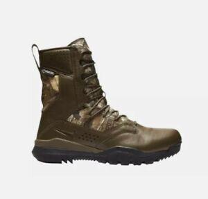 "Nike SFB Field 2 8"" Realtree GORE-TEX Hunting Boots Camo AQ1203-200 Mens Size 13"