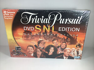Trivial Pursuit SNL Edition DVD Board Game Saturday Night Live 30th Anniversary