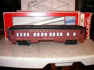 Lionel 0 027 6-9514 Pennsylvania Illuminated Passenger Car Exc in Box 9514