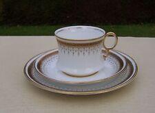 Royal Albert Crown China 'Pattern 5182' Cup, Saucer & Plate Trio, Greek Key