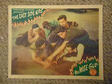 "The Dead End Kids East Side Kids Mr Wise Guy Orig 11x14"" Lobby Card #M6209"