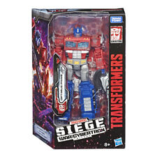 Transformers War For Cybertron: Siege - Voyager Optimus Prime