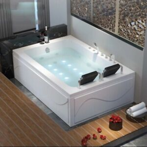 NEW WHIRLPOOL JACUZZI 2 people massage bathtub