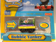 BRAND NEW Take Along/Take-n-Play Thomas 'BUBBLE TANKER' - VERY RARE - tatty pack