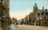 MIDHURST North Street Postcard nr Chichester SUSSEX The Wrench Series