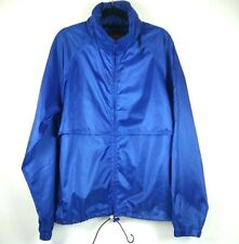 Eddie Bauer Outfitter Mens Small Windbreaker Blue