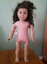 """AMERICAN GIRL-African American """"JUST LIKE YOU"""" Doll #26 Brown Hair Addy mold JLY"""