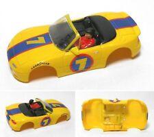 1992 TYCO Mazda Miata #7 Slot Car BODY Rare WIDE 9009