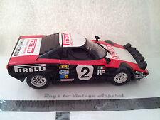 Vintage Diecast car BBurago Lancia Stratos  1/24 Italy Pirelli Rally