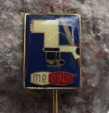 Meopta Czechoslovakia Photographic Photo Negative Enlarger Advertising Pin Badge