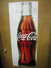 Coca-Cola Removable Vinyl Fat Head 4.5' Wall Graphic Decal NEW