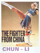 Game Street Fighter Chunli Chun li 1/6 Vinyl Figure Model Kit 10""