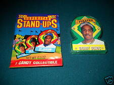 1991 Topps Stand Ups TEST ISSUE Candy Collectible BARRY BONDS Pirates - Odd Ball