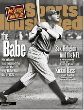 August 24, 1998 Babe Ruth New York Yankees SPORTS ILLUSTRATED NO LABEL WB