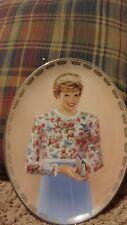 Diana 1998 Bradford Exchange #3 A True Princess Plate Collection Queen COA