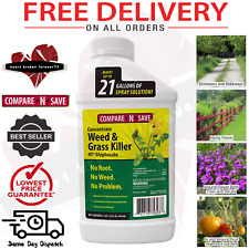 Compare N Save Grass Weed Killer Garden Lawn Patio Kills Roots Quick 32-Ounce US