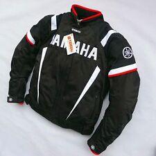 Yamaha  Black and White Racing Jacket Autombile Race Clothing Motorcycle Clothes