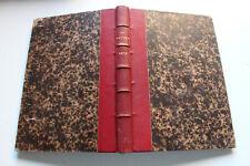 revue LA NATURE - TISSANDIER / PARVILLE - album semestriel relié - 1873