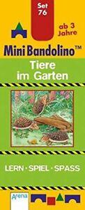 Tiere im Garten: Mini-Bandolino Set 76 | Buch | Zustand gut