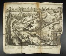 Le Golgotha Lieu du crâne  Jean Doubdan Voyage Terre Sainte c1660 Nicolas Cochin