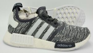 Adidas Originals NMD R1 Boost Trainers Woven Grey/White BY3035 UK4.5/US6/EU37.5